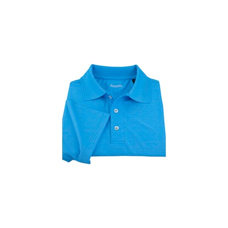 Textured Stripe Men's Polo